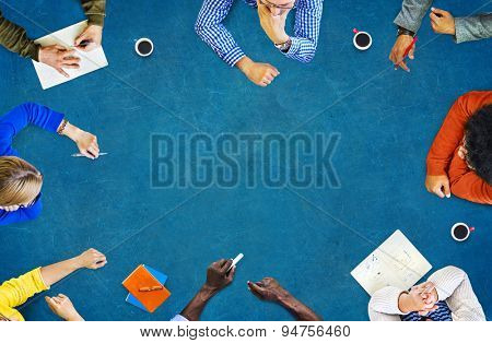 Business Discussion Brainstorm Creativity Meeting Concept