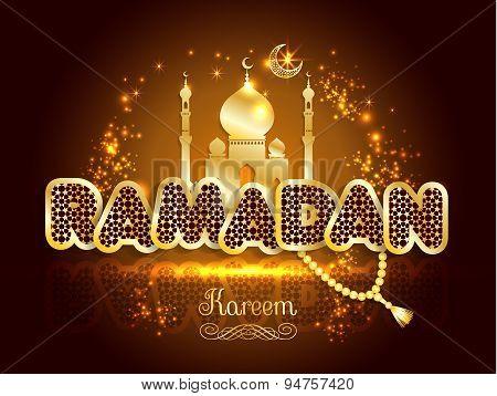 Ramadan Greeting Card.
