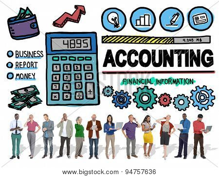Accounting Finance Money Banking Business Concept
