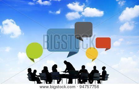 Business Collaboration Colleague Occupation Partnership Teamwork Concept