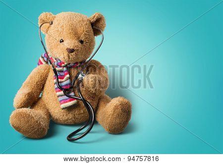 Teddy Bear, Recovery, Stethoscope.