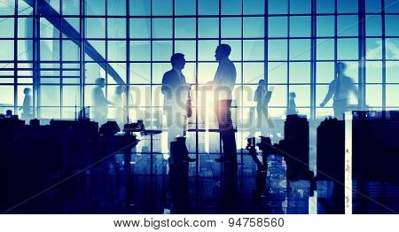 Business People Interaction Communication Concept