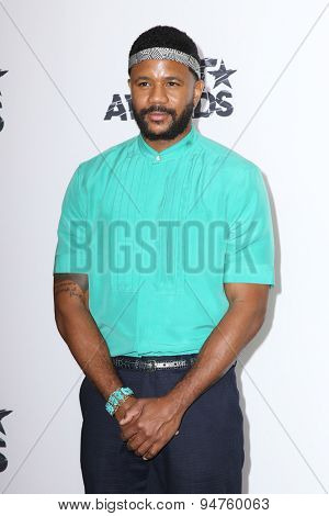 LOS ANGELES - JUN 28:  Hosea Chanchez at the 2015 BET Awards - Press Room at the Microsoft Theater on June 28, 2015 in Los Angeles, CA