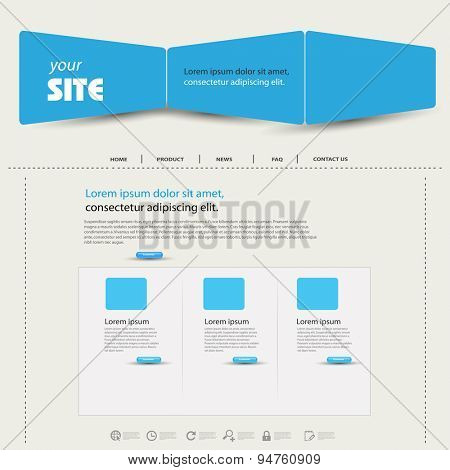 web design template easy editable