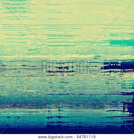 Old abstract texture with grunge stains. With different color patterns: yellow (beige); gray; blue; cyan