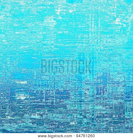 Old grunge textured background. With different color patterns: gray; blue; cyan