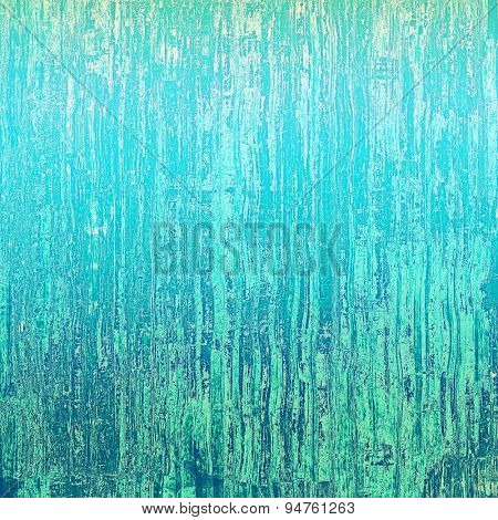 Art vintage background with space for text and different color patterns: gray; blue; cyan; green