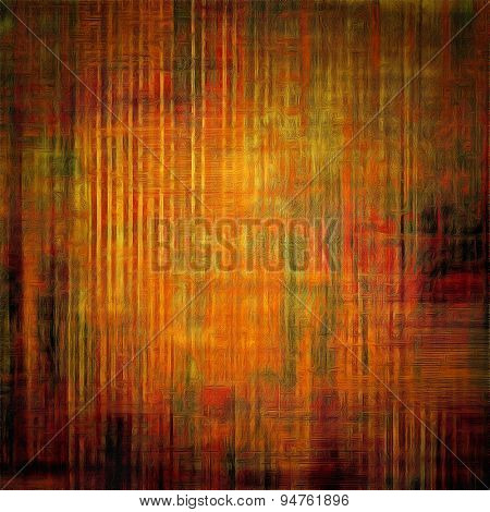Old grunge template. With different color patterns: yellow (beige); brown; gray; red (orange)