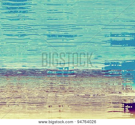 Abstract grunge background or old texture. With different color patterns: yellow (beige); brown; blue; purple (violet)