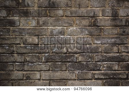 Rustic Old Brick Wall Texture Pattern
