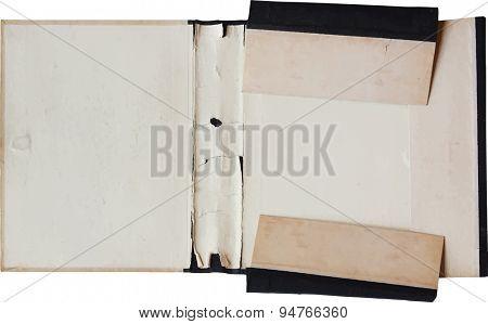 old folder, vector