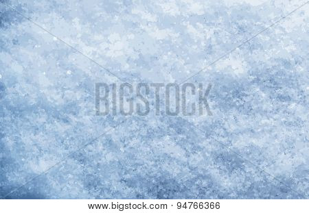 Snow background, vector