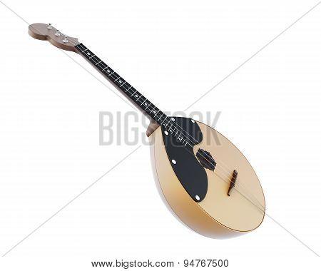 Russian Folk Musical Instrument Domra