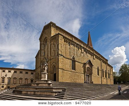 The Arezzo Cathedral of Saint Donatus