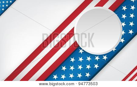 Usa 4Th Of July Background Design