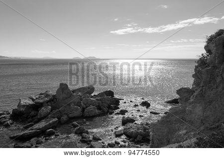 Coastline In Preveli