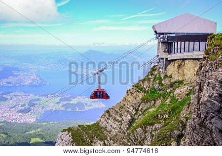 Panorama From Mount Pilatus, Switzerland