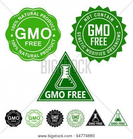 GMO Free Seals Set