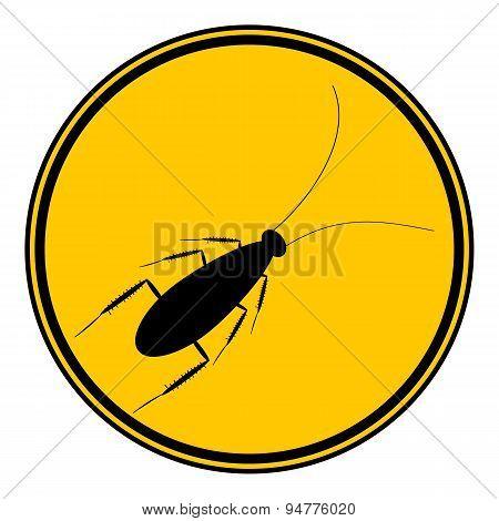 Cockroach Button.