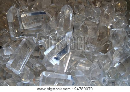 Crystal Quartz Background