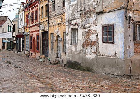 Derelict Houses Skopje