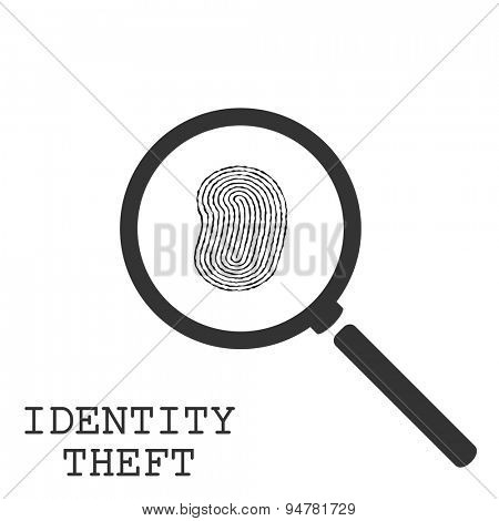 Identity Theft Illustration