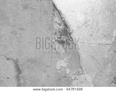 Concrete texture - grey background wall