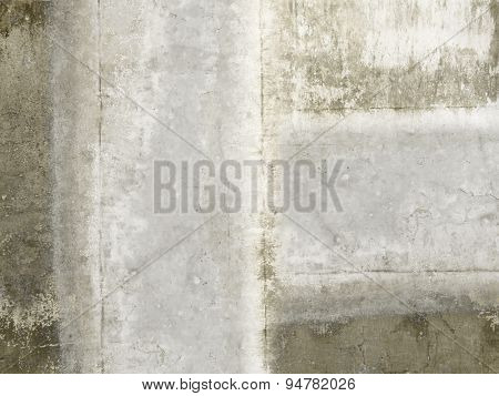 Concrete wall texture in grunge style - grey brown cement background