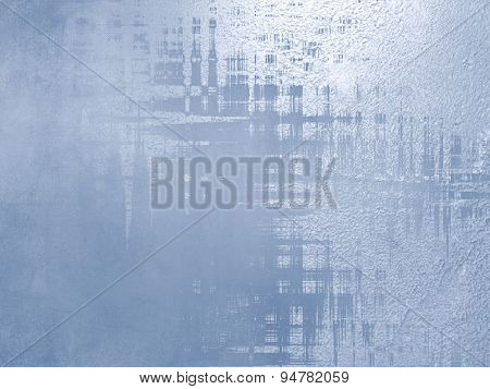 Blue background - abstract elegant design