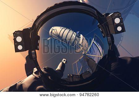 Helmet astronaut.