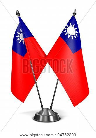 Republic China - Miniature Flags.