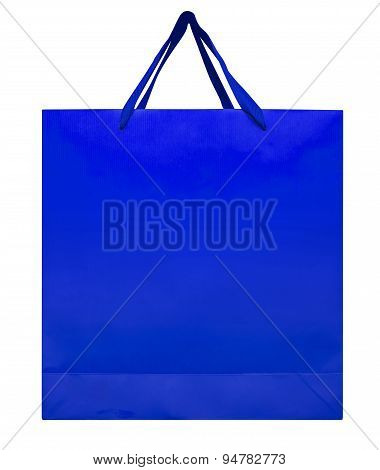 Paper Bag - Blue