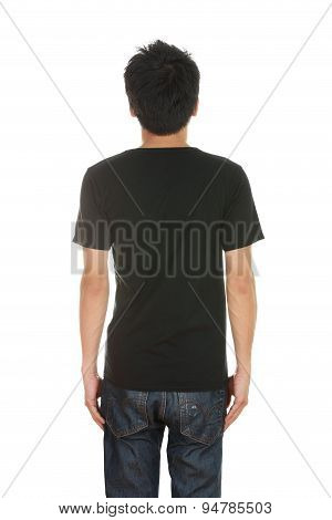 Man With Blank T-shirt