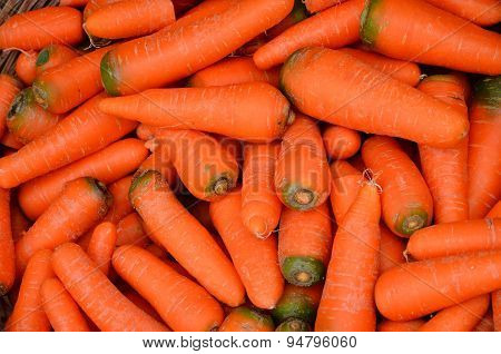 Red Pile Of Carrots