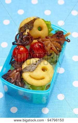 Pirates bento box for children