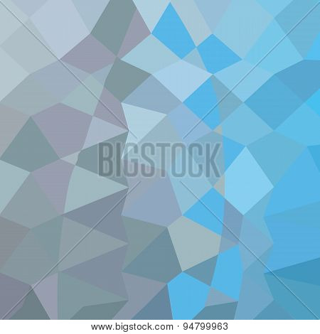 Clair De Lune Grey Abstract Low Polygon Background