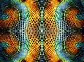 stock photo of symmetrical  - Abstract symmetrical texture or wallpaper - JPG