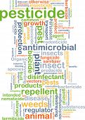 stock photo of pesticide  - Background concept wordcloud illustration of pesticide - JPG