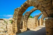 picture of stall  - National park Caesarea on the Mediterranean - JPG