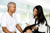 image of counseling  - Person in need having a counseling session - JPG
