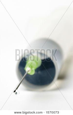 Dripping Syringe