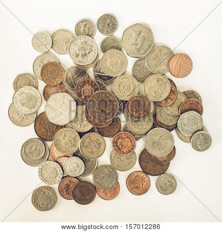 Vintage Pound Coin
