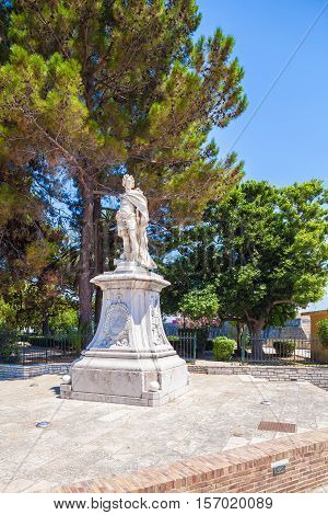 Monument To Schulenburg, Corfu City