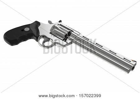 Revolver Chrome Pistol