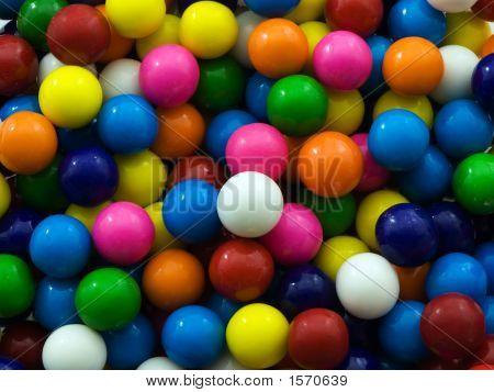 Gum Ball Background