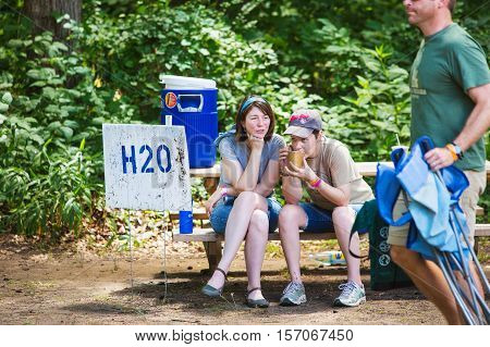 Wild Goose Festival Hydration Station