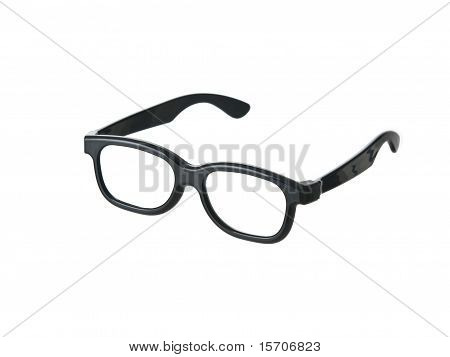 Geeky Funny Black Glasses