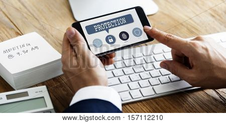 Authorization Permission Network Security System Concept