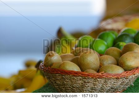Kiwi In Basket