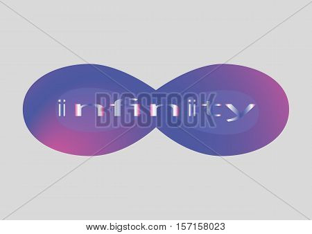 Infinity symbol or sign, icon, infinity logo